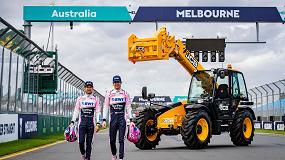 Foto de Las manipuladoras telescópicas de JCB se estrenan en la primera carrera de F1 de la temporada en Australia