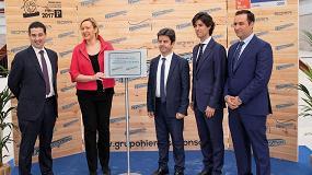 Foto de Hierros Huesca inaugura sus instalaciones en la Plataforma Logística PLHUS y dobla así su capacidad de producción