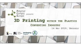 Foto de La Plastics Converting Industry Conference incluirá una conferencia sobre impresión 3D