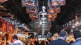 Foto de Simon ilumina el interior del emblemático Mercat de la Boqueria