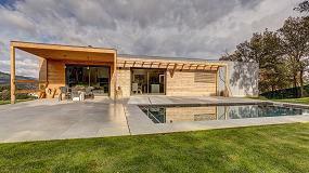 Foto de Una vivienda sostenible con la madera como protagonista