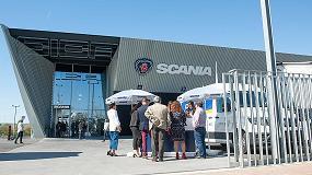 Foto de El concesionario Scania, Cica Huelva, inaugura sus nuevas instalaciones