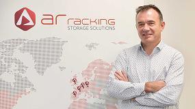 Foto de Pablo Montes, director técnico de AR Racking, presidente del Grupo de Trabajo 'FEM Racking & Shelving'