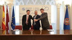 Foto de Himoinsa y Yanmar renuevan el acuerdo de colaboración con la Universidad Politécnica de Cartagena