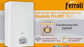 Foto de Bluehelix Pro RRT Slim, nueva caldera de condensación de Ferroli