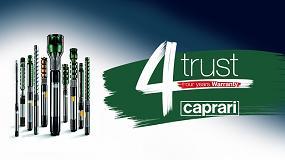 Foto de Caprari ofrece un nuevo servicio: 4 años de garantía