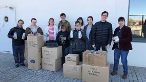 Foto de La Fundación Txema Elorza dona materiales de ferretería a Down Madrid