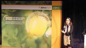 Foto de Syngenta presenta Affirm Opti, su nueva tecnología para el control de lepidópteros en manzano
