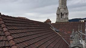 Foto de Rehabilitación de la cubierta de la Iglesia de San José con el Sistema de impermeabilización de tejados Onduline Bajo Teja DRS
