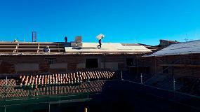 Foto de Rehabilitación energética e impermeabilización de la cubierta del histórico Palacio de los Guillamas con el Sistema Integral Onduline