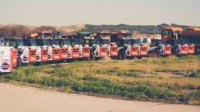 Foto de 20 cargadoras Bobcat en el Aeropuerto Adolfo Suárez Madrid-Barajas