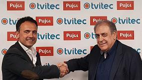 Foto de Acuerdo entre Hornos Pujol y Tvitec para la fabricación de vidrio curvo laminado