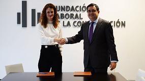 Foto de Hispalyt y la Fundación Laboral de la Construcción firman un convenio para la formación de profesionales del sector
