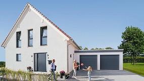 Foto de Hörmann presenta la puerta seccional de garaje RenoMatic y la puerta de entrada a vivienda Thermo46