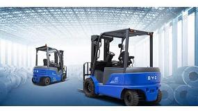 Foto de BYD Forklift incorpora tres nuevos concesionarios en España