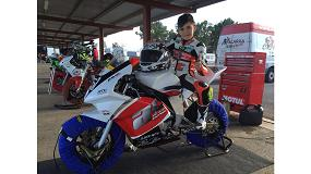 Foto de Transgrúas esponsorizará esta temporada al joven corredor de motos Ian Chamorro