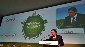 Foto de El sector cooperativo concentra dos tercios de la producción final agraria