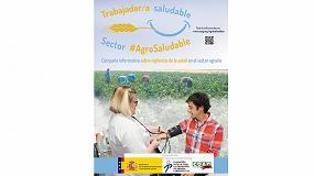 Foto de Campaña divulgativa sobre los beneficios de la vigilancia de la salud en el sector agrario