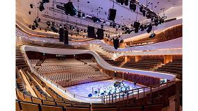 Foto de Hi-Macs convierte la sala de conciertos Zaryadye en fuente de inspiración para la arquitectura moderna
