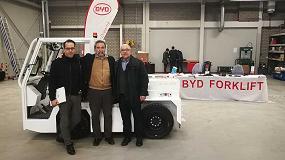 Foto de Carretillas TR comprueba los beneficios de la maquinaria de interior de BYD en los Países Bajos