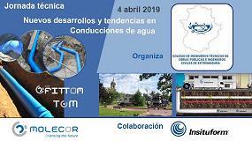 """Foto de Molecor colabora en la Jornada técnica """"Nuevos desarrollos y tendencias en Conducciones de agua"""""""