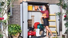 Foto de Keter presenta el cobertizo Premier Alto, para tener las herramientas de jardín siempre organizadas