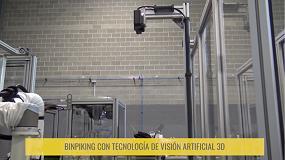 Foto de Aplicación Infaimon de manipulación automática de poleas