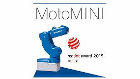 Foto de El robot MotoMini de Yaskawa gana el Red Dot Award 2019 en la categoría Diseño de Producto