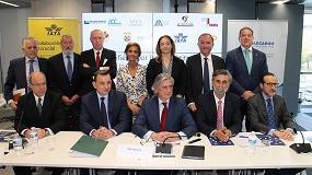 Foto de La carga aérea española firma un manifiesto por la competitividad