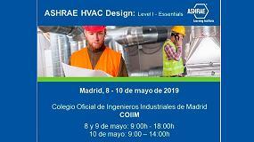 Foto de Se imparte por primera vez en Madrid el curso Ashrae HVAC Design Level I – Essentials
