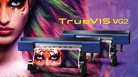 Foto de Roland DG presenta la nueva impresora/cortadora de la serie TrueVIS VG2