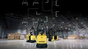 Foto de Automatización con las carretillas elevadoras robotizadas de Hyster