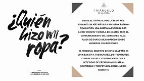 Foto de El Triángulo de la Moda se suma a la campaña #QuiénHizoMiRopa
