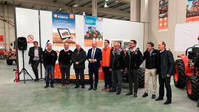 Foto de Vidal y Basols, concesionario de Kubota, inaugura instalaciones en Alcañiz