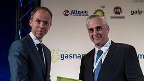 Foto de Scania, galardonada con el Premio a la Innovación en el Congreso de Gasnam por su autocar de GNL