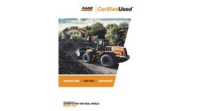 Foto de Case Construction Equipment presenta las nuevas máquinas Case Certified Used