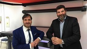 Foto de Entrevista a Ricard Riera, de Recasens, y Alberto Pérez, de Llaza