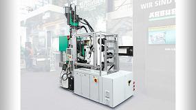 Foto de Arburg muestra la técnica de moldeo por inyección digitalizada y automatizada en Plastpol 2019