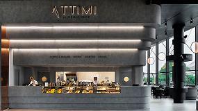 Foto de Fabio Novembre elige Hi-Macs para Attimi, el nuevo restaurante de Heinz Beck en Milán
