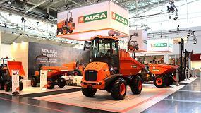 Foto de Ausa presenta sus productos más revolucionarios en Bauma 2019