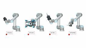 Foto de Gimatic presenta su gama de kits de integración con robots colaborativos de UR (Universal Robots)