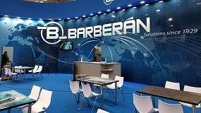 Foto de Barberán presenta en Ligna 2019 su última tecnología en acabados y texturas