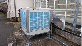Foto de Climatización evaporativa en invernaderos tecnológicos de Met Mann