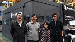 Foto de Barberán instala la primera impresora digital Jetmaster en China
