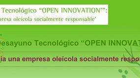 Foto de III Desayuno Tecnológico 'Open Innovation': Hacia una empresa oleícola socialmente responsable