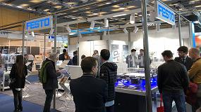 Foto de Festo presenta en Advanced Factories sus novedades para la digitalización de la Industria 4.0