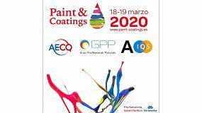 Foto de Paint & Coatings, Barcelona 2020 presenta nuevas colaboraciones