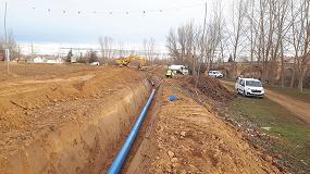 Foto de Transformación en Regadío del Sector XXII de la Subzona de Payuelos - Área Cea, con tuberías de PVC-O