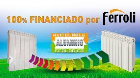 Foto de Ferroli pone en marcha su Plan Renove 2019 de radiadores de aluminio