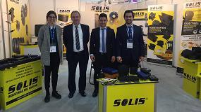 Foto de Solis Industrias del Caucho potencia su expansión internacional con su presencia en Bauma 2019